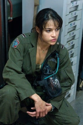 Michelle Rodriguez playing another tough-chick