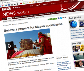 BBC onboard with doomsday scenario