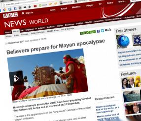 BBC onboard with doomsday scenario