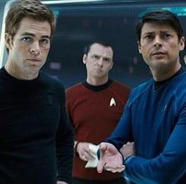 Star Trek (100%) – J.J. Abrams, Pine and Quinto