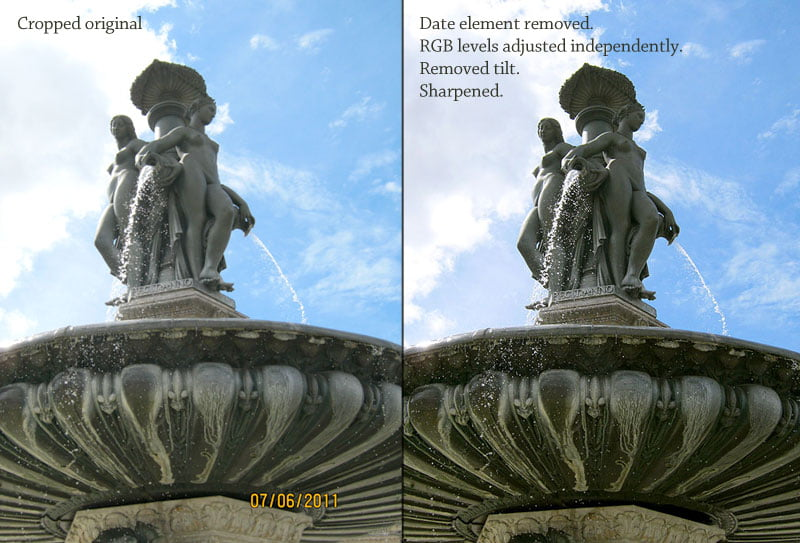 Photoshopping French chateuax
