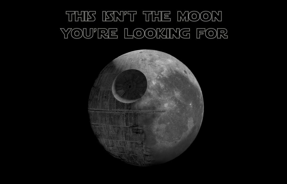 The Star Wars Death Moon