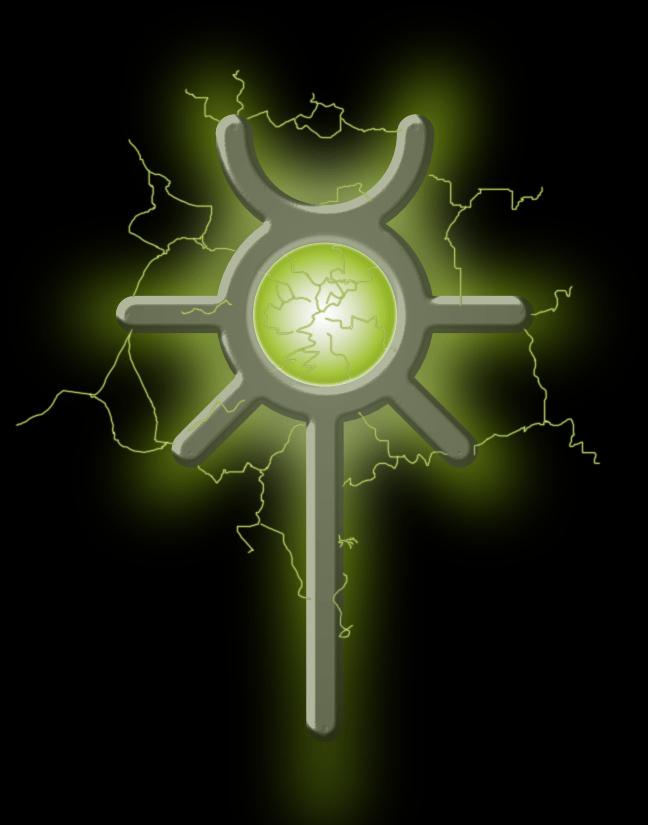 necron lightning banner
