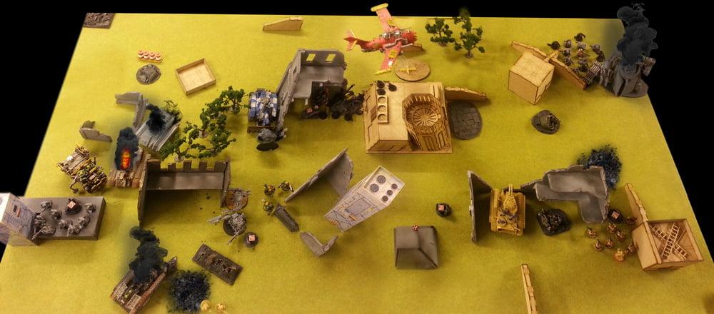 The Klaws of Treta: Orks vs Astra Militarum (Pt2)
