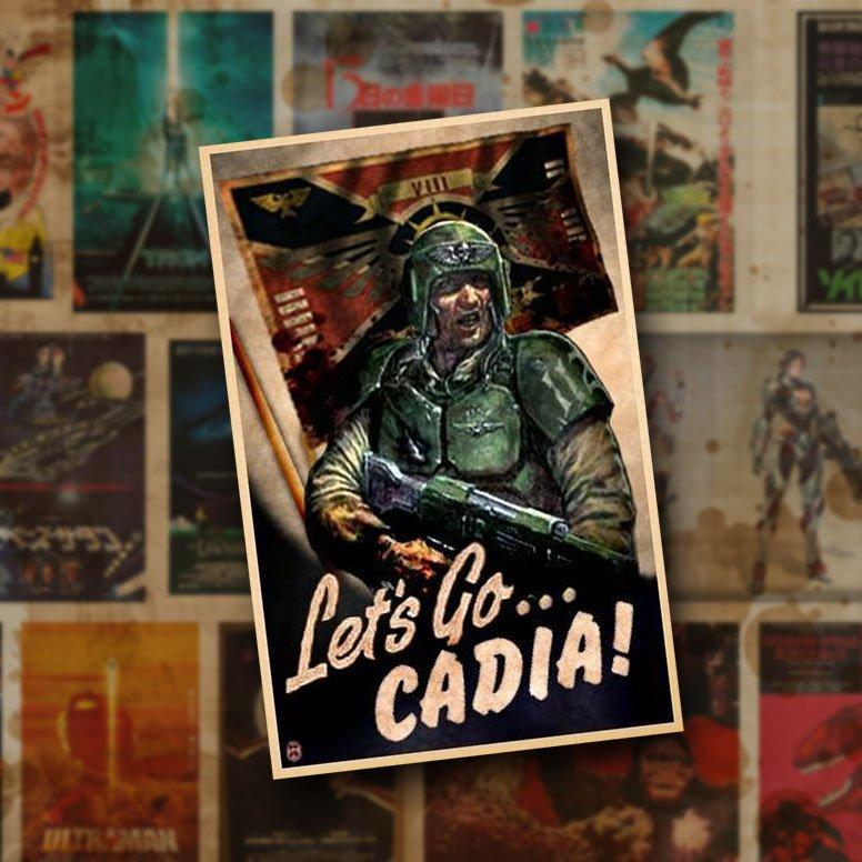 40K War Propaganda Posters!