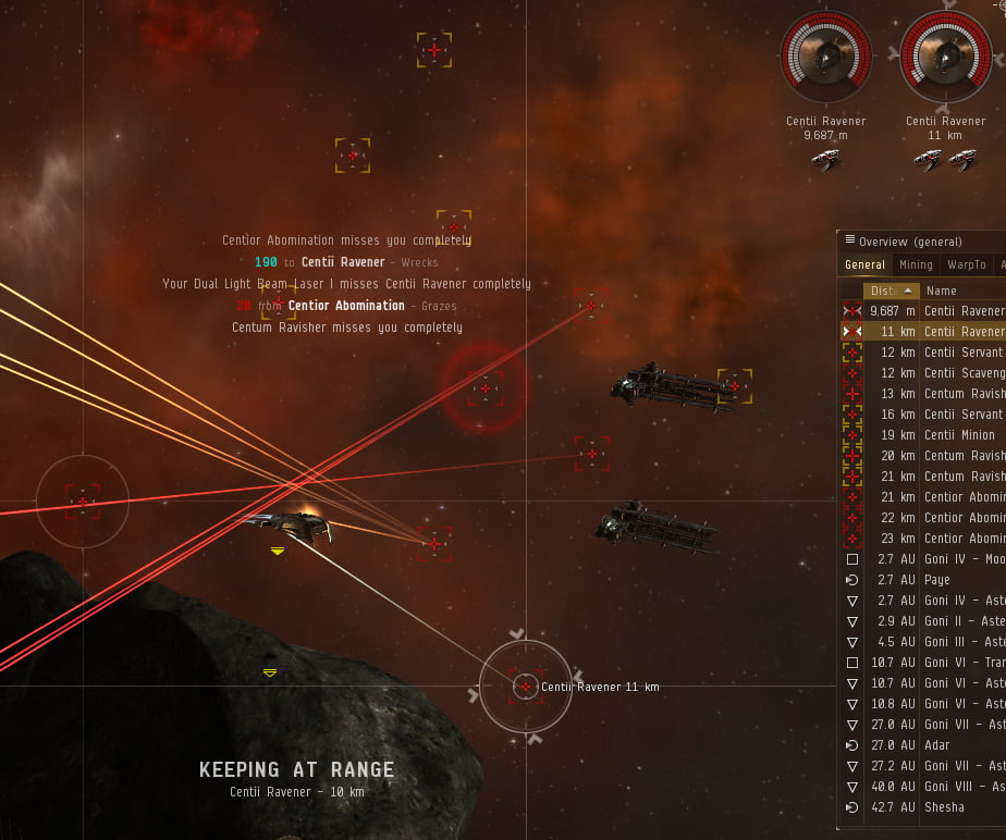 Eve Online: More Laser Shooting