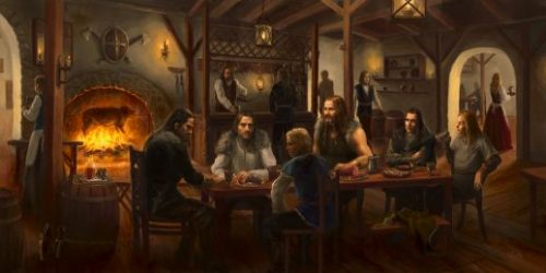 D&D plot hook starting adventure in a tavern