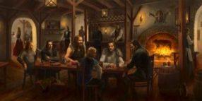 D&D plot hook starting adventure in a tavern