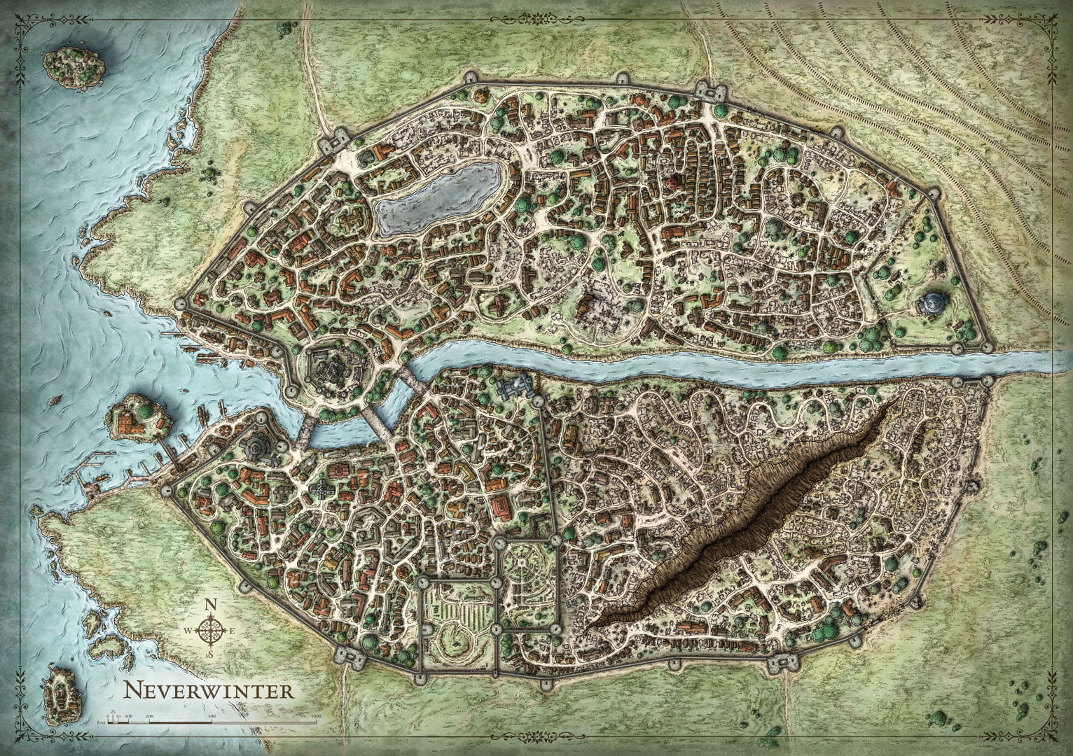 The city of Neverwinter  Features, Facts & Timeline (Forgotten