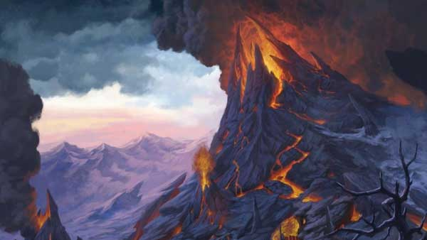 Mount Hotenow Erupts over Neverwinter