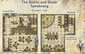 Starting in a Tavern: The Bottle and Blade