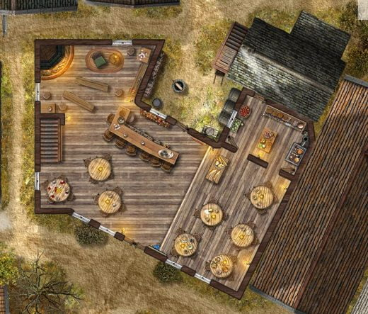 The Rusty Dragon Tavern