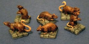 reaper miniature rats for dnd