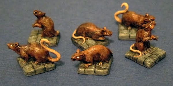 reaper miniature rats for dnd