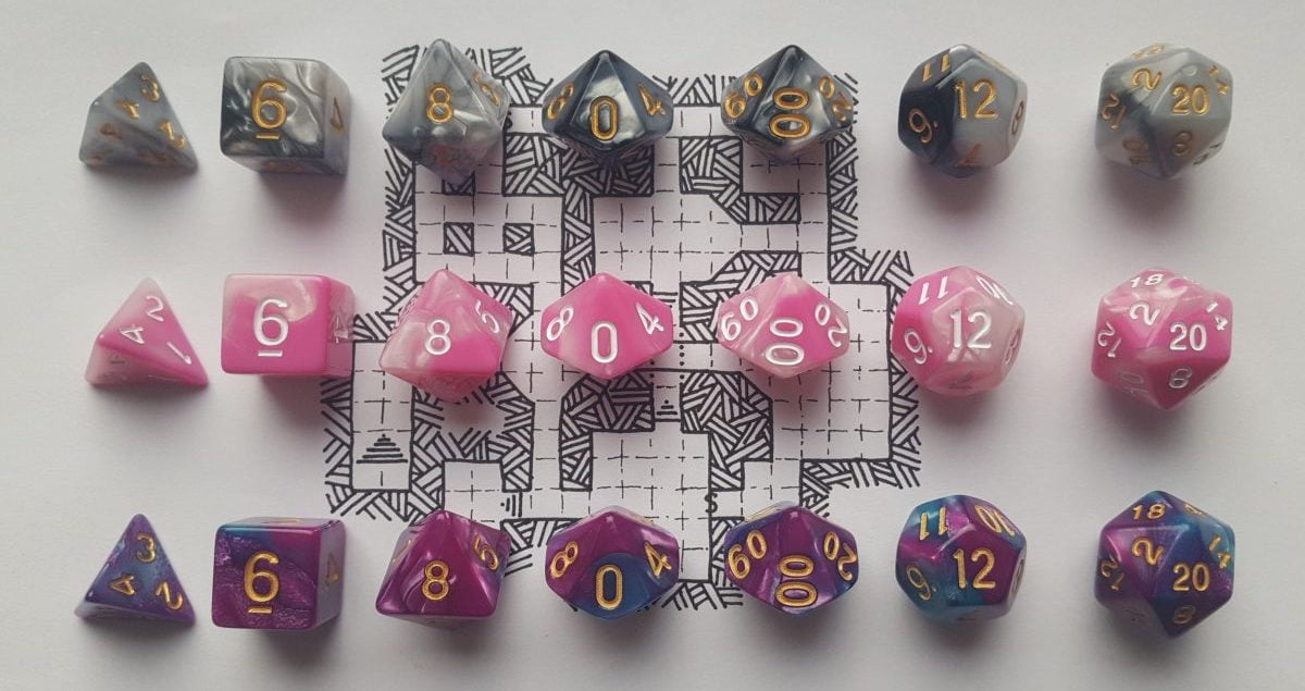 Dungeons and Dragon Dice Set Giveaway