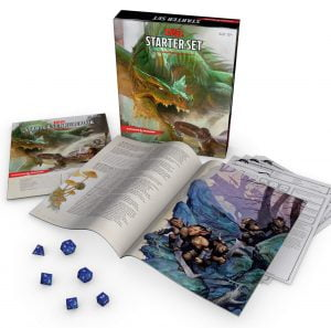 dnd dungeons dragons starter set 5e edition