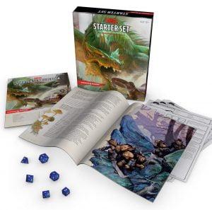 dnd dungeons dragons starter set 5e edition