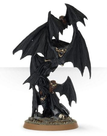 giant bat miniatures from GW for Dnd Pathfinder