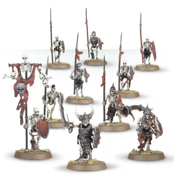 skeleton warrior miniatures from games workshop