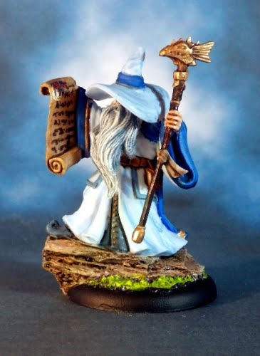 wizard reaper rich burge miniature mini