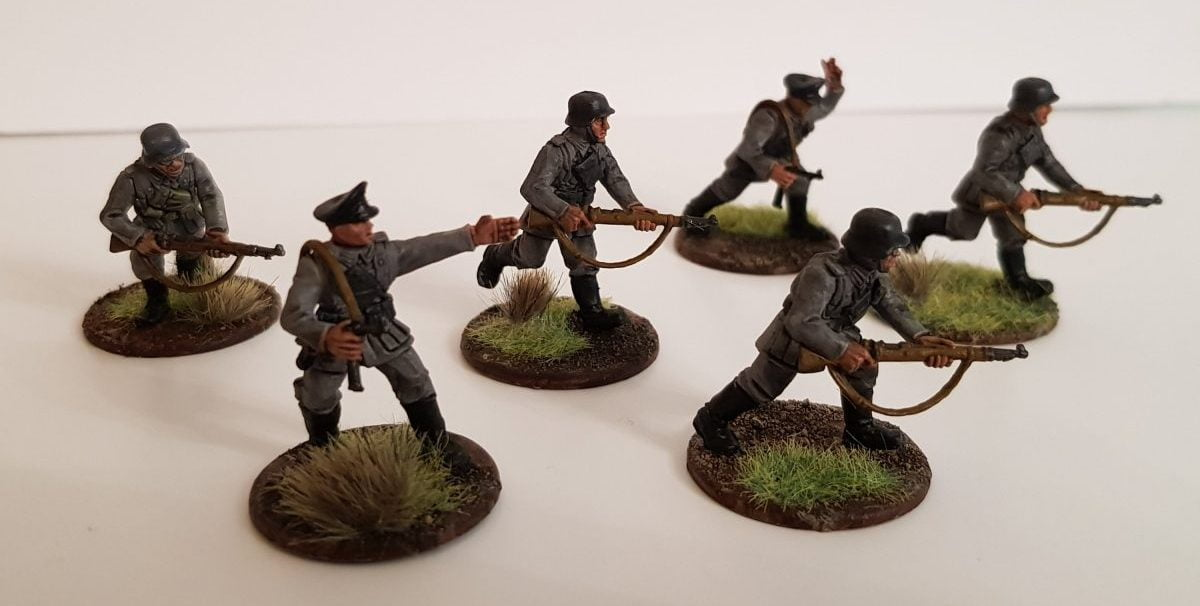 Painting Challenge: WW2 German Infantry
