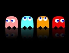 The ghosts of Pac-man