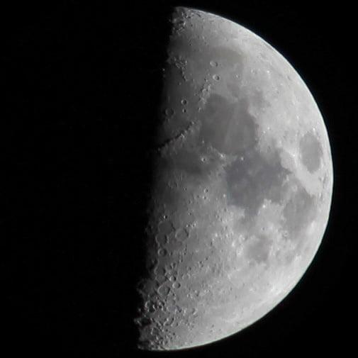 Capturing tonights moon