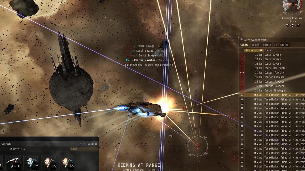Eve Online: Laser Combat