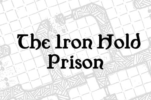 Map: The Iron Hold Prison
