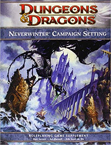 Neverwinter Campaign Setting book from amazon