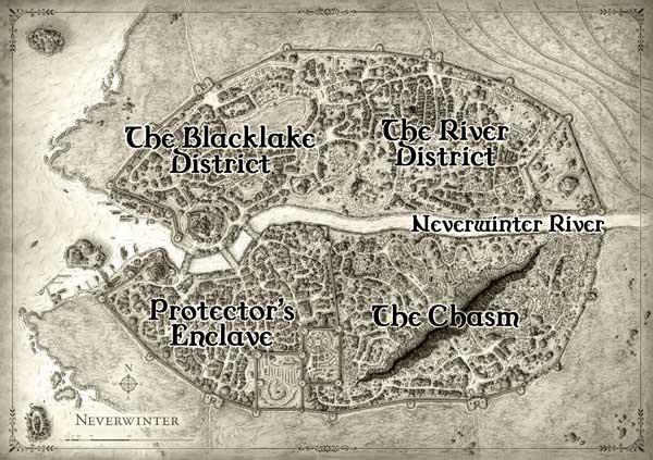 Neverwinter Split into 5 Sectors
