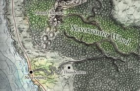 Neverwinter Situated Between the Woods and The Sea
