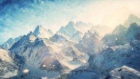 World Building Snow Mountains