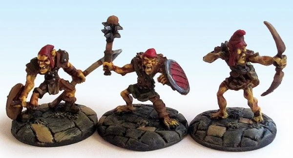 repear bones miniatures for the best goblins
