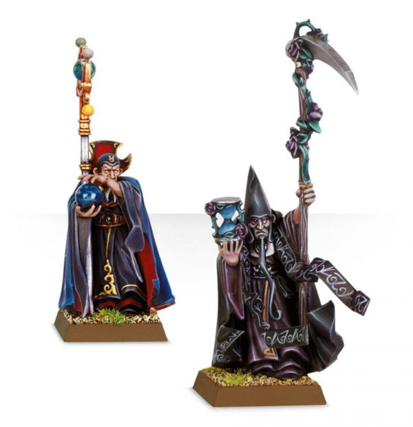 battle wizard mages from games workshop