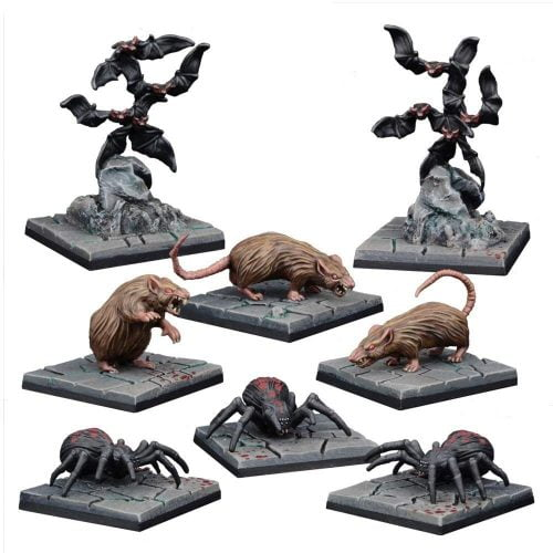 giant rats spiders and bats miniatures from amazon