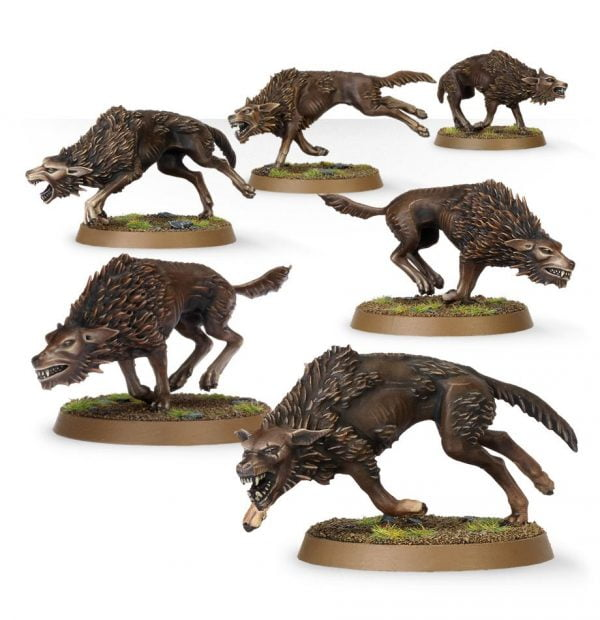miniatures from games workshop fell wargs