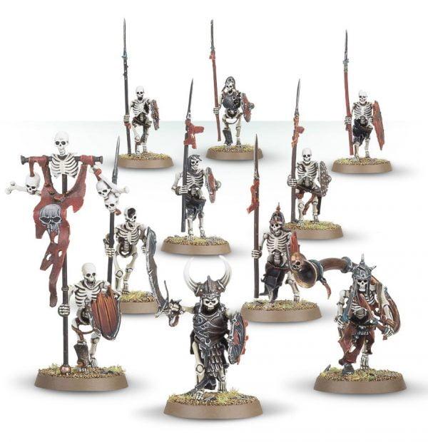 skeleton warrior miniatures from games workshop