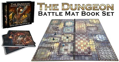 Loke's TWO book Dungeon Battle Mat system