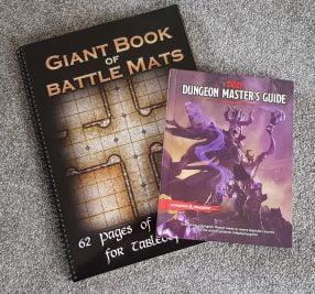 Loke Battle mat compared to DM Guide