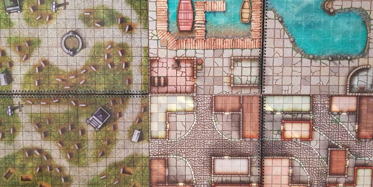 The SIX best battle mats for DnD