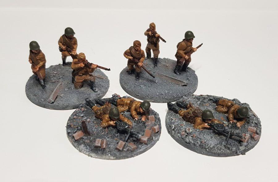 20mm Soviet infantry custom bases