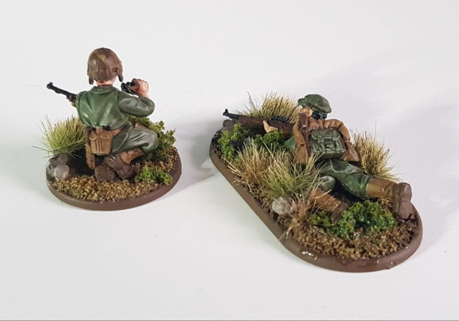 Painting USMC sniper and spotter