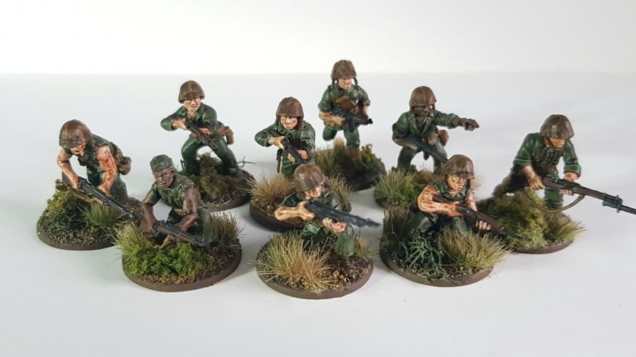 USMC painted and based
