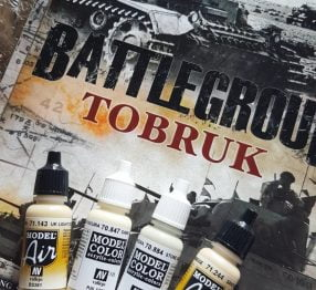 Battlegroup Tobruk book by Plastic Soldier Company