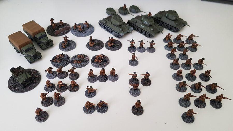20mm urban Soviet Army for Battlegroup
