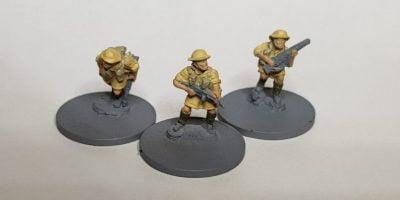 15mm Brits Flames of War Painting Webbing